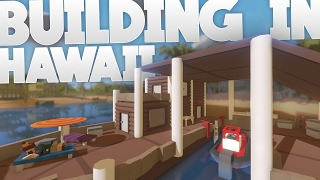 Unturned: Building in Hawaii | Boat House | Part 1 (Hawaii Map)