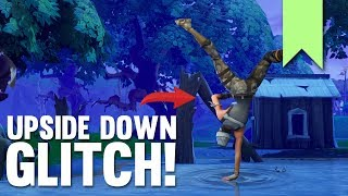 UPSIDE DOWN GLITCH! | FORTNITE FUNNY FAILS AND BEST MOMENTS #096