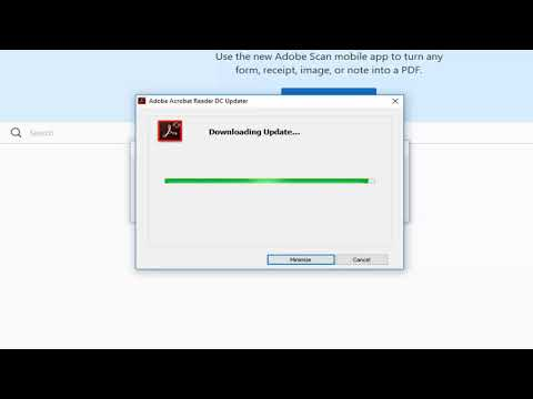 How To Update Adobe Acrobat Reader PDF Software To The Latest Version Tutorial