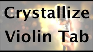 How to Play Crystallize by Lindsey Stirling on Violin