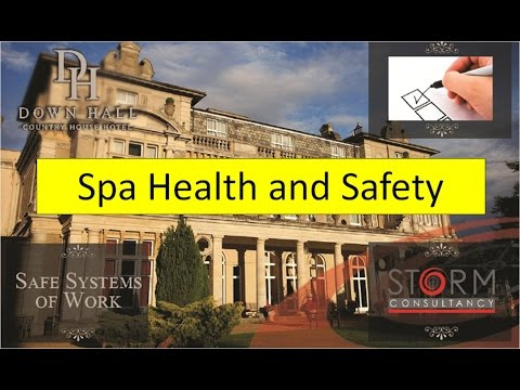 Spa Health and Safety