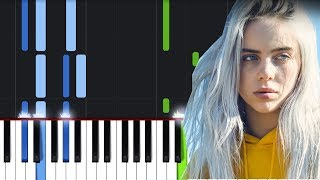 Billie Eilish - when the party's over (Piano Tutorial)