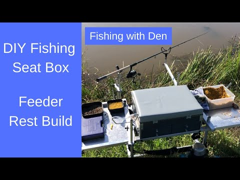 Homemade Fishing Seat Box - Part Six - Feeder Rest & Back Rest