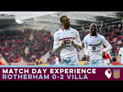 MATCH DAY EXPERIENCE | Rotherham 0-2 Villa