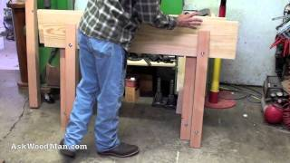 9 Of 47: Making The Ultimate Work Table • A Woodworking Project