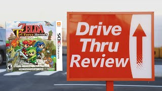 The Legend of Zelda: Tri Force Heroes - Drive Thru Review