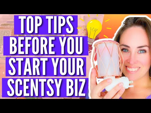 Top Tips BEFORE You Join Scentsy
