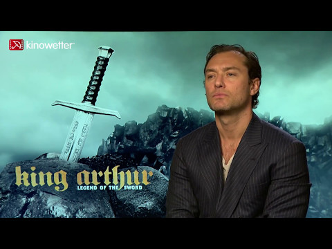 Interview Jude Law KING ARTHUR: LEGEND OF THE SWORD