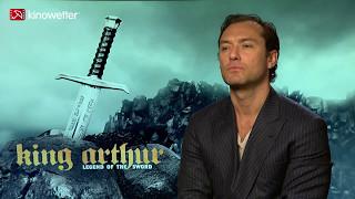 Baixar Interview Jude Law KING ARTHUR: LEGEND OF THE SWORD