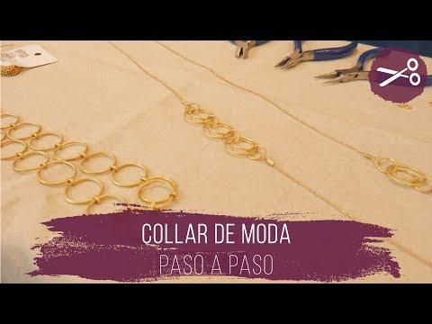 El collar de moda paso a paso + trucos