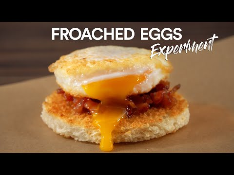 The BEST EGG I have made! FROACHED Sous Vide Egg, WOW!