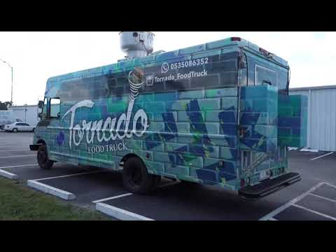 Tornado Food Truck Built By Prestige Food Trucks
