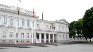 アキーラさん訪問!リトアニア・ヴィリニュス・大統領官邸,Vilnius,Lytuania