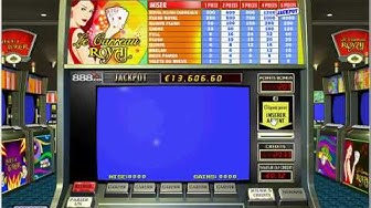 888.com Casino on Net présenté : Vidéo poker - Carreau Royal