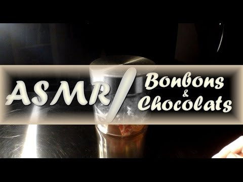 [ASMR- Binaural] Papiers de Bonbons et chocolat  (francais)