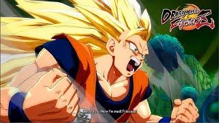 Goku SSJ3 with Facial Animations (Dramatic Finish) - Dragon Ball FighterZ Mods