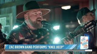 Zac Brown Band – Knee Deep (NBC TODAY SHOW Performance)