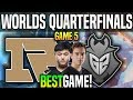 RNG vs G2 Game 5 *BEST GAME WORLDS!* Worlds 2018 Quarterfinals Royal Never Give Up vs G2 Esports G5