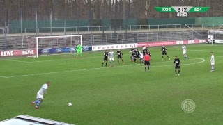 A-Junioren-Bundesliga LIVE: 1. FC Köln - FC Schalke 04