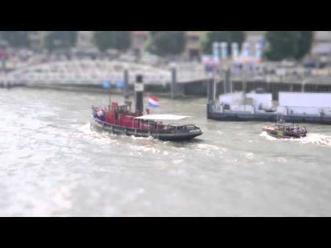 Rotterdam World Harbor Days - Tilt Shift