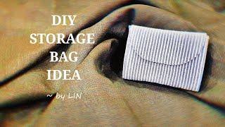 DIY STORAGE BAG IDEA ‖ TRAVEL STORAGE BAG #HandyMum