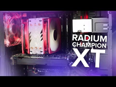 Ilyen egy komplett, felsőkategóriás PC - nálunk járt a Radium Champion XT