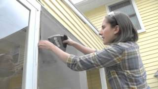 Screened Porch Repair | Yhwdiy.com - Handywoman Powered Diy