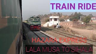 A short clip of train Ride from Lala Musa junction to Sihala on 11 UP Hazara Express
