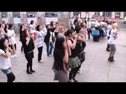 Berlin (베를린) - K-Pop Flashmob (110910) - 독일 Germany