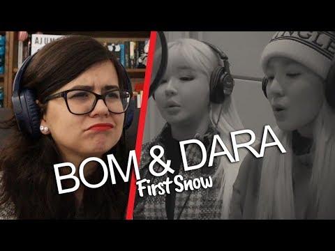 Park Bom(박봄),Sandara Park(산다라박) - The First Snow(첫눈) REACTION/REVIEW
