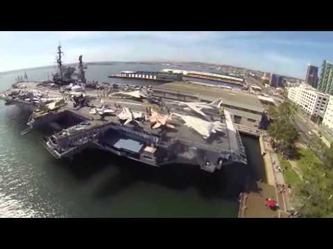 Sức Mạnh Quân Sự Mỹ- Nghĩa địa tàu sân bay khủng nhất thế giới HD