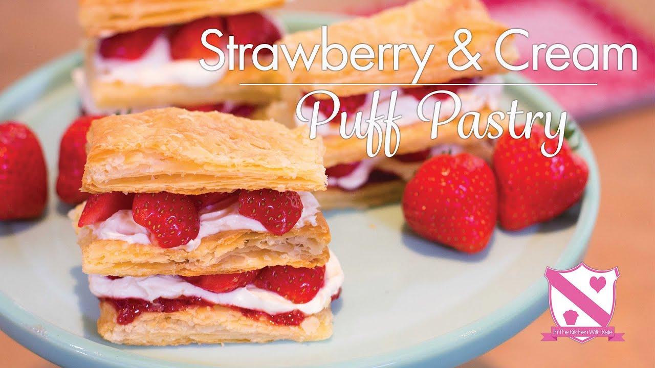 Strawberry Pastry Cake Recipe