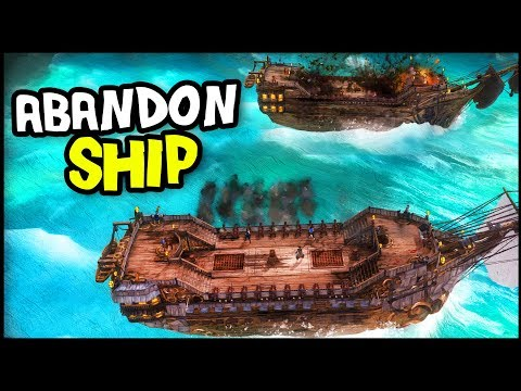 Abandon Ship - RAMMING SPEED! Where Is The Kraken? FTL Meets Pirate Game (Abandon Ship Gameplay)