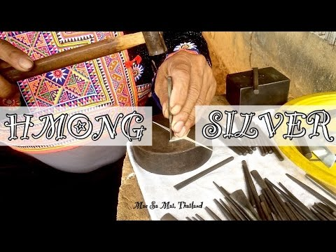 Hmong Hill Tribe Silver in Thailand