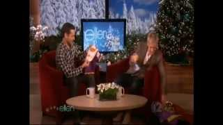 Tobey Maguire on Ellen December 2009
