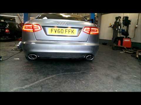 Audi A6 2.0tdi 170 bhp DPF delete & Dyno