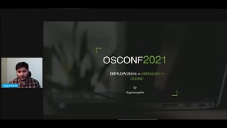OSCONF April 2021 - Run GitHub Actions Locally with nektos/act and Docker