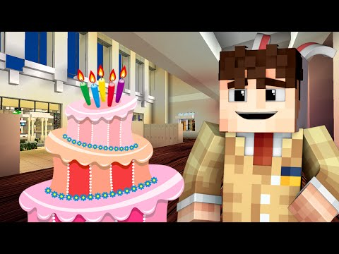 Yandere High School - BIRTHDAY! (Minecraft Roleplay) SPECIAL