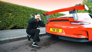 NEW exhaust on my GT3RS! First listen! LOUD! Revs & acceleration