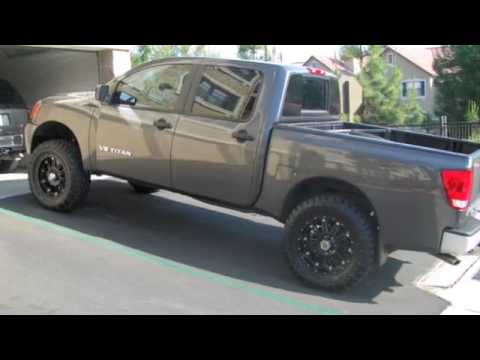 Lifted Nissan Titan >> LIFTED NISSAN TITAN - YouTube