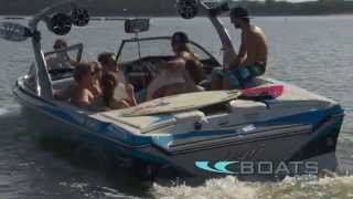 2012 Tige Z3 Tow Sports Boat Review / Performance Test