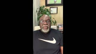 My Thoughts on Self-Quarantine and COVID-19 | From Bishop T.D. Jakes