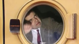 Trapped in a drier | Mr. Bean Official