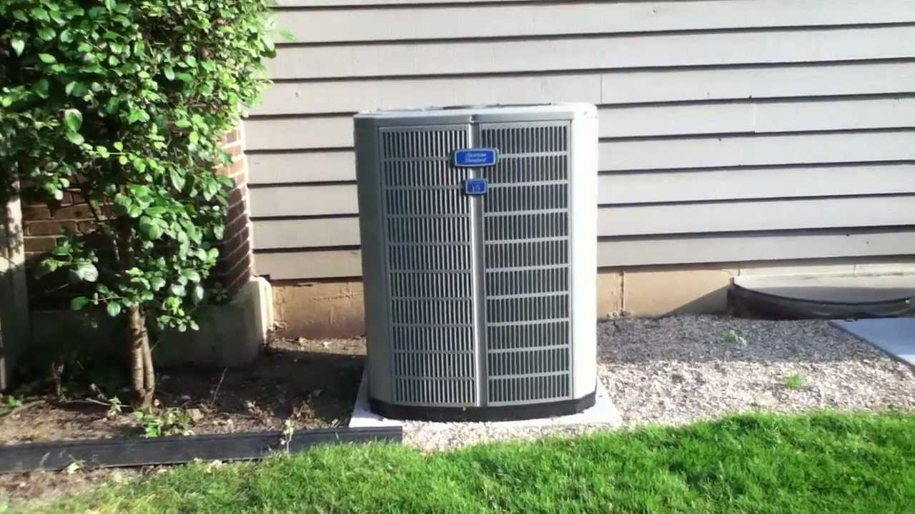 2010 5 Ton American Standard Allegiance 15 Air Conditioner