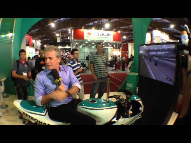 Simulador Moto1000GP Petronas | SALÃO 2 RODAS [EDIT] HD