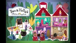 【 Ben&Holly】花園小精靈 班班&莉莉 英美大PK 魔法教室&小小城堡 Ben&Holly's little kingdom