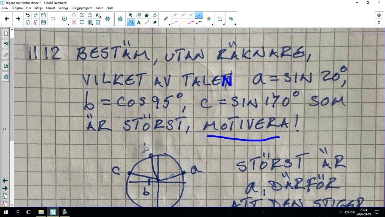 127. Trigonometriska funktioner 13