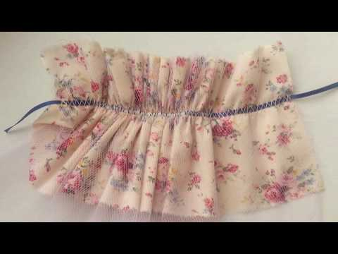 Make A Made-to-measure Vintage Dress For Your Cloth Doll 07