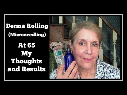 Derma RollingMicroneedling - Lips Scalp & Face at 65 My Thoughts