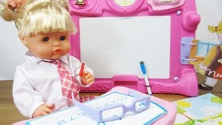 Nenuco Let's Play School Baby Doll Playset By Famosa